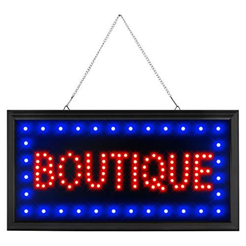 - CHENXI Led Boutique Business Store Shop Store Sign of Led (48 X 25 cm, Boutique)