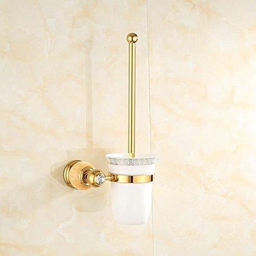 Znzbzt jewel of whole copper bath towel rack bathroom metal wall of marble gold towel rack racks, Wong Yuk Toilet brush