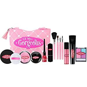 Pretend Makeup for Girls - With Play Makeup Give Her the Freedom to Do it Herself With This Premium Fake Makeup Set - This Kids Makeup Is So Soft She Might Think Her Girl's Makeup Kit Is Better