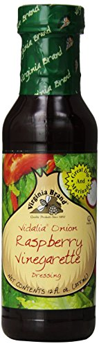 Virginia Brand Vidalia Onion Raspberry Vinegarette , 12 Ounce Bottle (Pack of 6)
