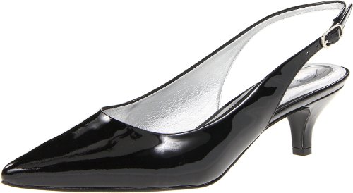 Trotters Womens Prima Dress Pump Brevetto Nero