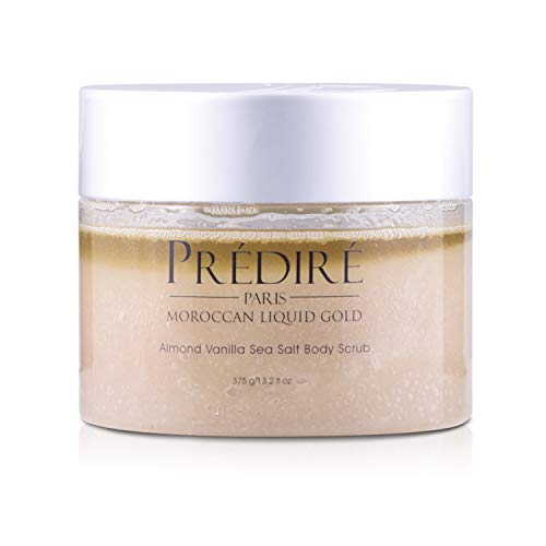 Liquid Oxygen Hand Repair Cream - Almond Vanilla Sea Salt Exfoliating Body Scrub with Argan Oil & Vitamin E Booster by Prédiré Paris
