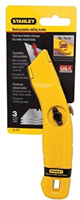 Stanley 10-707 Retractable Blade Utility Knife