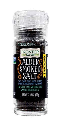 Frontier Salt Grinder - Alder Smoke - 3.2 Ounces
