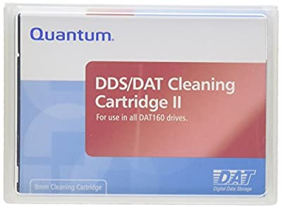 Dds/dat Cleaning II Cartridge for Data 160 Drives by Quantum Corp