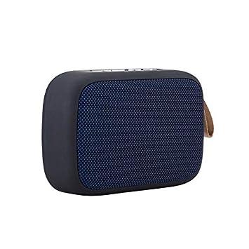 Altavoz Bluetooth inalámbrico portátil con Tarjeta SD estéreo FM ...