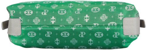 Poodlebag Club - Attrazione - Palermo - 3CL0313PALEG, Damen Shopper 37x32x11 cm (B x H x T) Grün (Green)