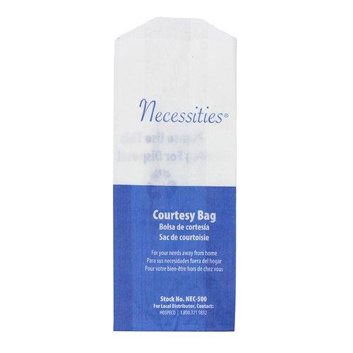 Necessities Feminine Hygiene Courtesy Disposal Bag (Case of 500), Hospeco NEC-500