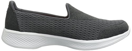 Walk Entrenadores para Carbón Mujer Go Pursuit 4 Skechers qwU65ZT