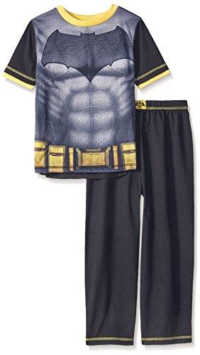 Batman Big Boys' 2 Piece Set with Cape, Black, Large (10-12) ()
