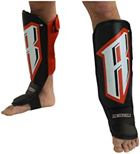 Amazon Com Revgear Grappling Back Open Shin Guard With Straps Boxing And Martial Arts Shin Guards Sports Outdoors
