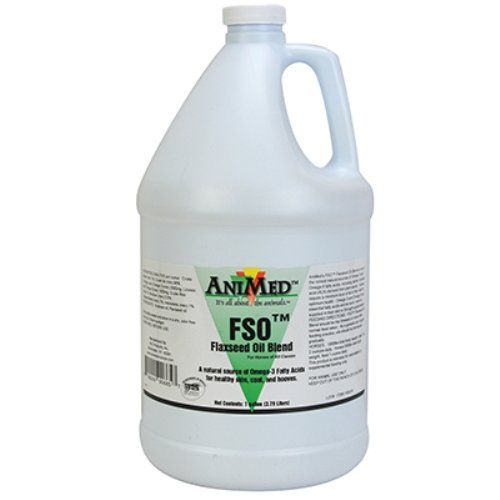 Animed Fso Flaxseed Oil Blend For Horses 5 Gallon