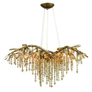 Golden lighting 9903 6 mg chandelier with amber tinted leaded golden lighting 9903 6 mg chandelier with amber tinted leaded crystal shades mystic gold aloadofball Gallery