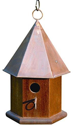 Copper Songbird House - Heartwood 015C Copper Songbird Decorative Bird House
