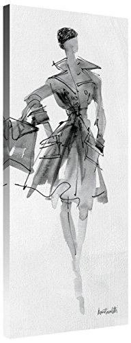 Global Gallery Anne Tavoletti 'Fashion Sketchbook VII' Giclee Stretched Canvas Artwork 16 x 40