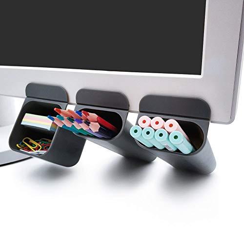 Goblin's Treasures New Creative DIY Screen Pen Pencil Holders Desktop Accessories Bags Desk Organizers Containers Storage Bags-3 Pack -