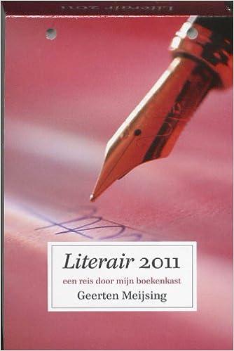 literair 2011 een reis door mijn boekenkast amazoncouk geerten meijsing 9789054246992 books