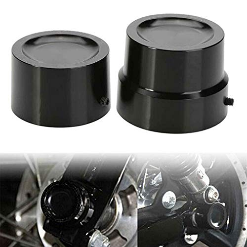 Billet Rear Cap Axle (Rear Axle Nut Cover Cap Bolt For Harley Sportster XL883 1200 Dyna Touring V-Rod XG Softail Electra Street Glide)