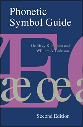 Phonetic symbol guide geoffrey k pullum william a ladusaw phonetic symbol guide geoffrey k pullum william a ladusaw 9780226685366 amazon books altavistaventures Images