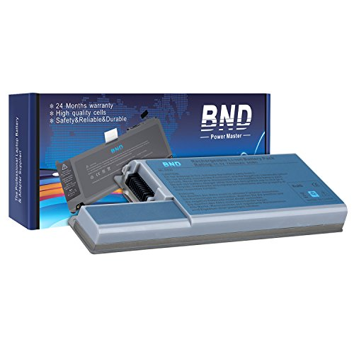 BND 7800mAh Laptop Battery [with Samsung Cells] for Dell Latitude D830 D820 D531, Dell Precision M4300 M65, fits P/N CF623 DF192 FF232 MM165 - 24 Months Warranty [9-Cell Li-ion]