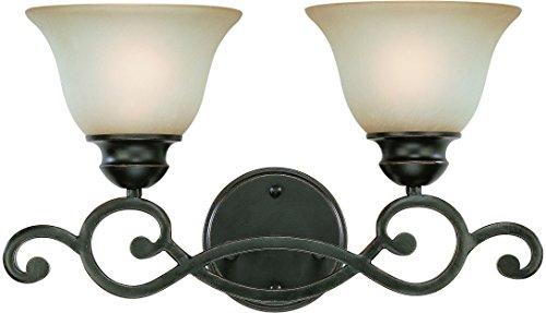 Lighting Craftmade Vanity - Craftmade 23002-RW 2 Light Vanity
