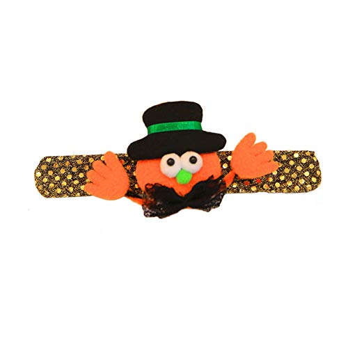 smallwoodi Halloween Sequins Children Led Wristband Bracelet Party