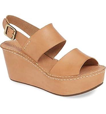 Chocolat Blu Wymen Platform - Leather Wedge Sandals