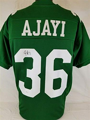 - Jay Ajayi Autographed Signed Philadelphia Eagles Custom Throwback Jersey Memorabilia - JSA Authentic