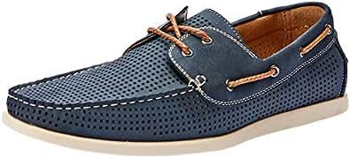 Uncut Men's Maya Casual Shoe, Navy, 10 AU