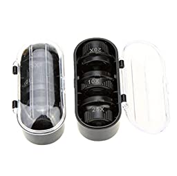 10X 15X 20X 25X Binocular Loupe Magnifying Glasses Magnifier with LED Light for Jewelry Appraisal Watch Repair