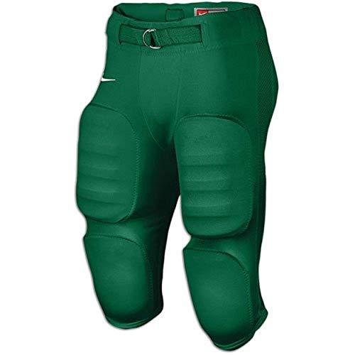 Nike Mens Defender Game Football Pant Dark Green White Size XXXL ()