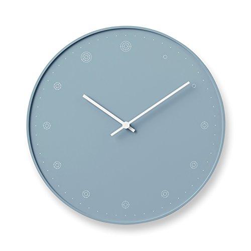 壁掛け時計 レムノス モレキュール Lemnos molecule おしゃれ 北欧 nendo 佐藤オオキ デザイン モダン シンプル 原子 電子配置 理系 NL17-02 日本製 (ブルー) B079FJ5HNVブルー