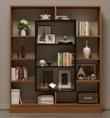 Soggiorno Moderno Noce.Homidea Venus Libreria Scaffale Per Libri Scaffale Per Ufficio Soggiorno Dal Design Moderno Noce Nero