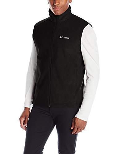 Columbia Men's Steens Mountain Vest, Black, Large