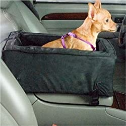 Snoozer Luxury Console Small Dog Car Seat Cafe Parchment