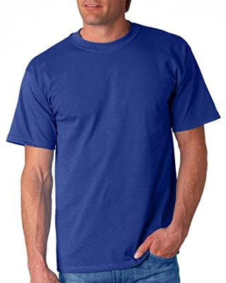 Gildan Adult Ultra Cotton T-Shirt, Metro Blue, Small. 2000