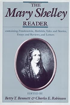 The Mary Shelley Reader 0195062582 Book Cover