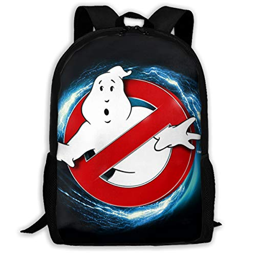 Ghostbusters School Backpack Lunch Bag Set School Bag Boys&Girls Bookbag Travel Daypack -
