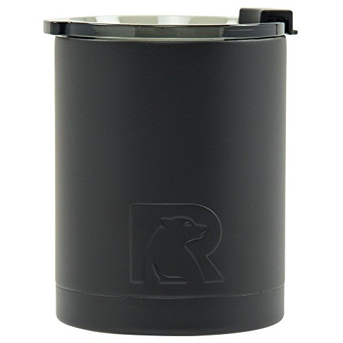 12oz Lowball Tumbler, Black