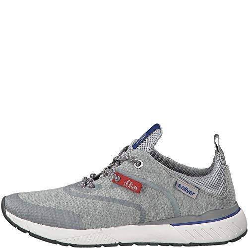 Grey Zapatillas Deportivos calzado S cordones 13607 Hombre 22 zapatos oliver wxFBZA