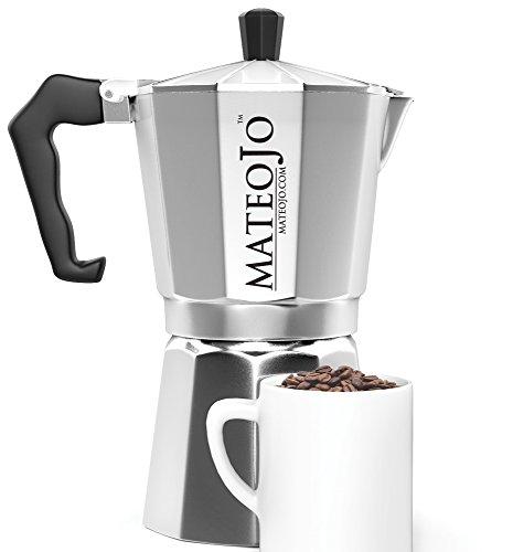 Stovetop espresso maker italian moka pot cafetera cuban coffee machine 6 cups ebay - Cafetera moka ...