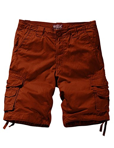 Match Men's Comfort Cargo Short (Label Size M/30 (US 29), 3058 Stone red)