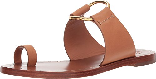 Tory Burch Tan Brannan Studded Leather Sandals (6.5 M US)