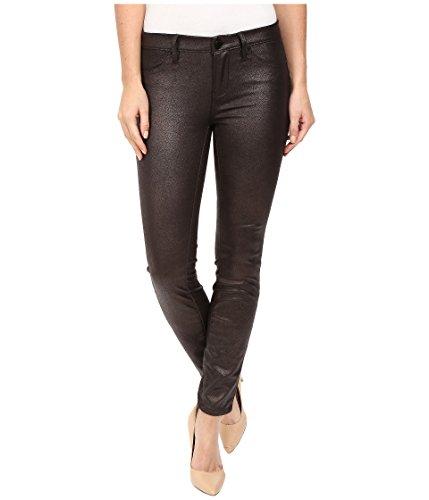 Metallic Zip Fly Jeans - 9