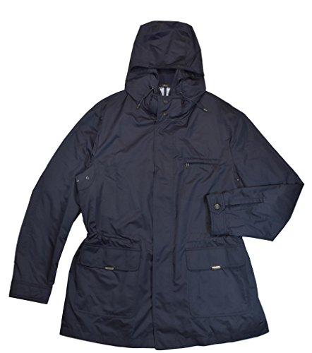 Brioni Men's Navy Blue Trench Jacket (Brioni Jacket)