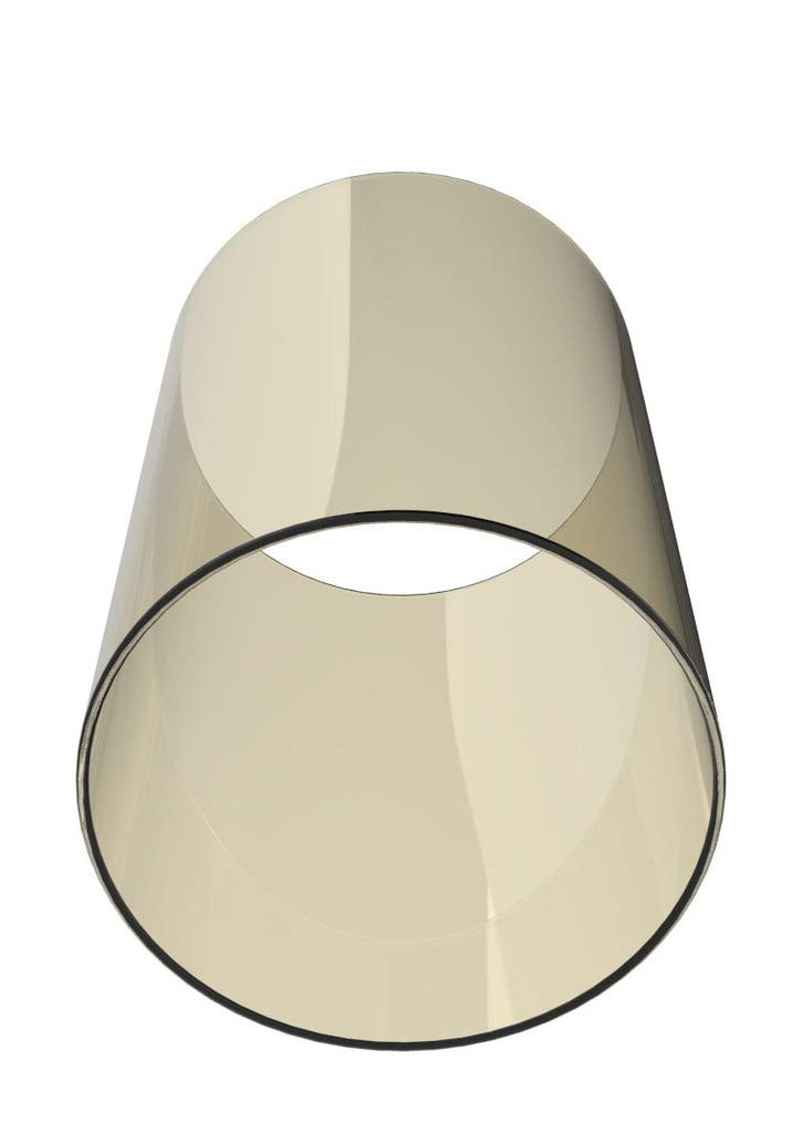 Amayan Borosilicate Glass Lampshade Pillar Candle Holder Open End-Diameter is 4.7'',Height 10'' Piece for Coffee Tables OR Side Tables- Glasses Holder - (Multiple Specifications) by Amayan (Image #2)