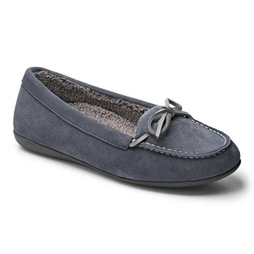 Vionic Womens Ida Slipper Grey Size 8