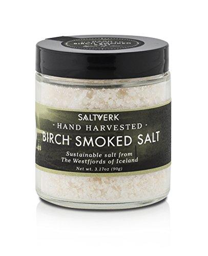 Birch Smoked Salt, 3.17 OZ by Saltverk Sustainable Sea Salt