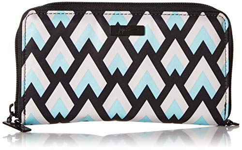JuJuBe Be Spendy Zippered Wallet, Onyx Collection - Black Diamond