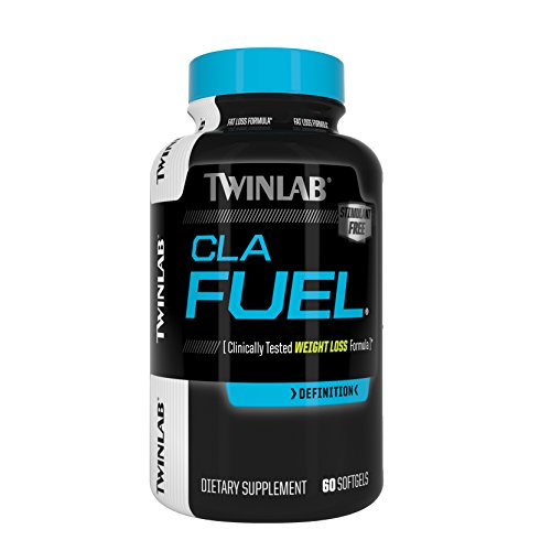 Twinlab Cla Fuel Weight Loss Supplements, 60 Count
